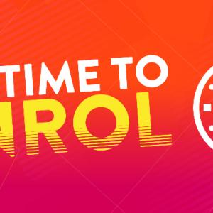 Online enrolment is now open!