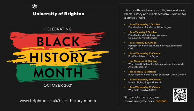 Black History Month schedule of events