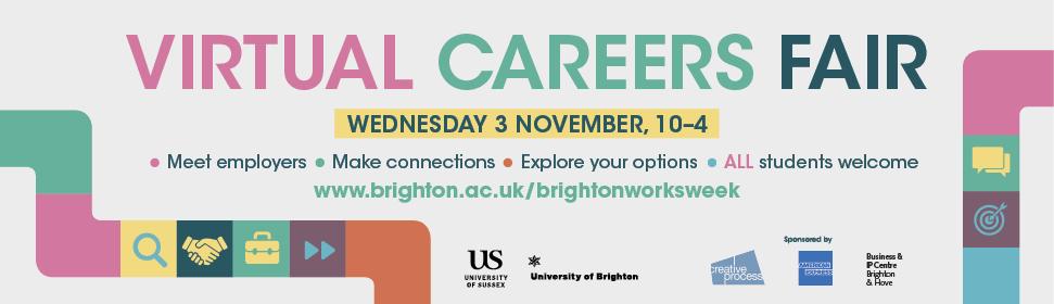 Virtual Careers Fair banner image