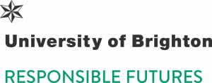 Logo for University of Brighton Responsible Futures