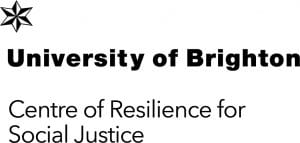 Logo for Centre of Resilience for Social Justice at the University of Brighton