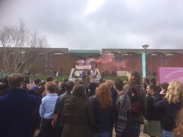 March on Sussex Campus 2018 picture 2