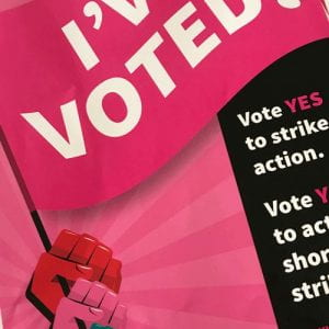 Photo of I've Voted poster