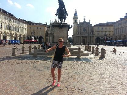 Matt in Piazza San Carlo
