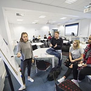 Brighton Business School commended by CIM