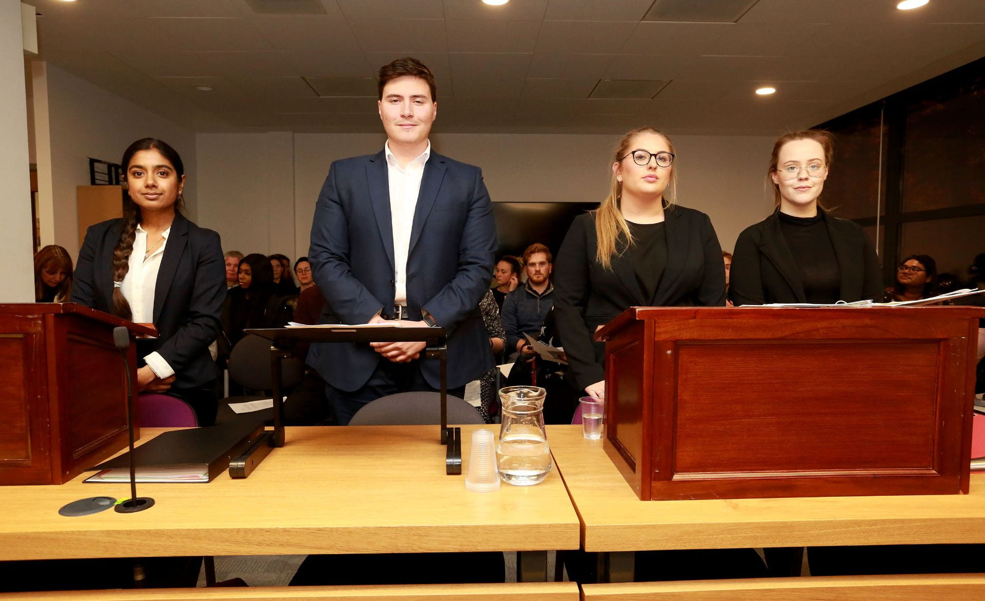Students from Sussex and Brighton go head-to-head at the annual mooting competition.