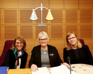 The competition's first all-female judging panel.