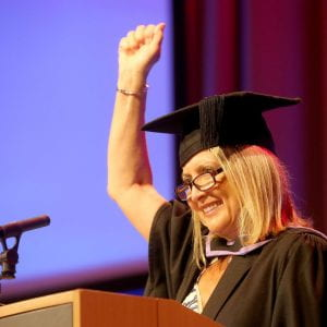 Brighton Business School graduate receives royal honour