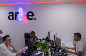 Arke's offices