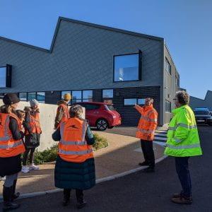 COVID-safe tour for logistics students at Shoreham Port