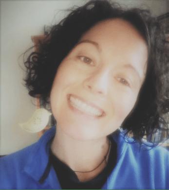 Chantal Frindall smiling