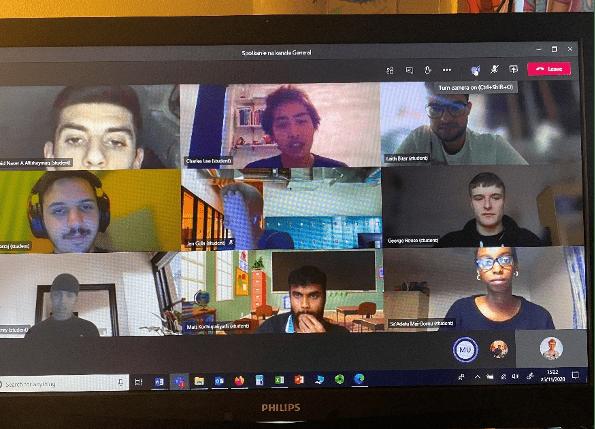 MS teams meeting screenshot