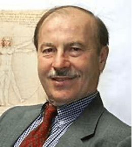 headshot of Prof Komlos