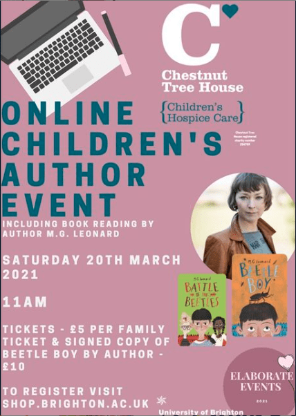 Chestnut tree house event poster