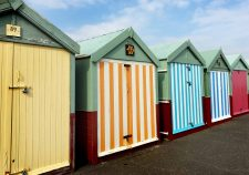 Hove Seafront bathing huts