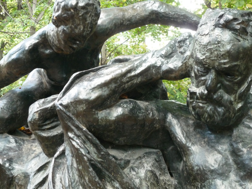 Auguste Rodin. Monument to Victor Hugo. 1890. Bronze. (Musée Rodin, Paris. Personal photograph by the author.)