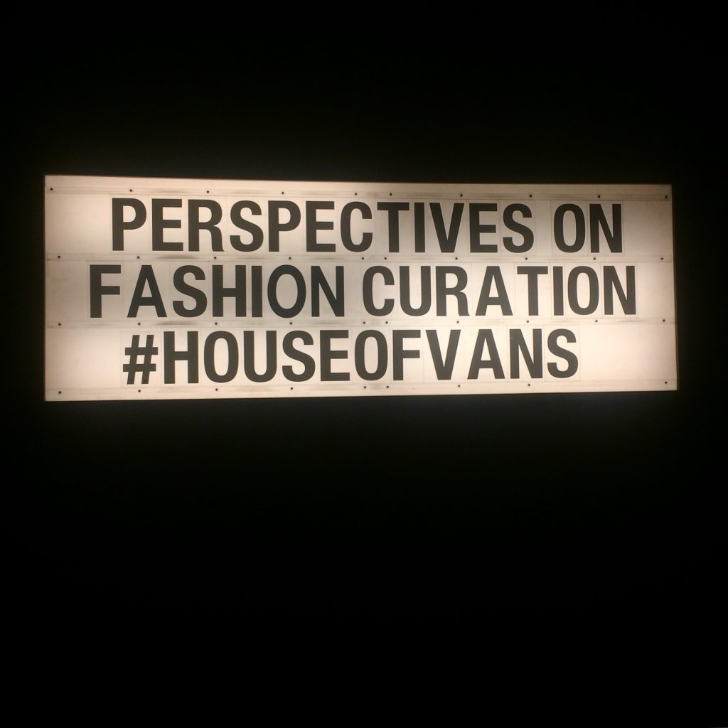 Perspectives on Fashion Curation. Photo by Jade Bailey-Dowling, 17 February 2017