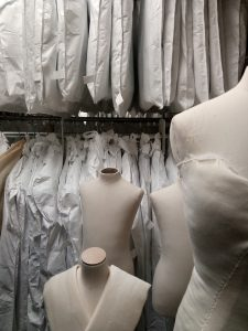 Image 3: Inside the costume store, Southend Museums (image by author).