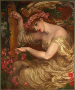 1. Dante Gabriel Rossetti. A Sea-Spell, 1875-77. Oil on canvas. 111.5 x 93 cm. Fogg Museum /Harvard Art Museums, Massachusetts, USA. Courtesy of www.harvardartmuseums.org