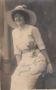 """""Alison Off on a Jaunt,"" 1915. Private photograph from the Charles Wakefield Private Archive"