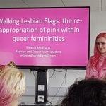 Presenting at Lesbian Lives