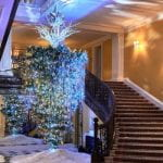 Designer Christmas Trees at Claridge's Hotel