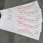 photo of raffle tickets