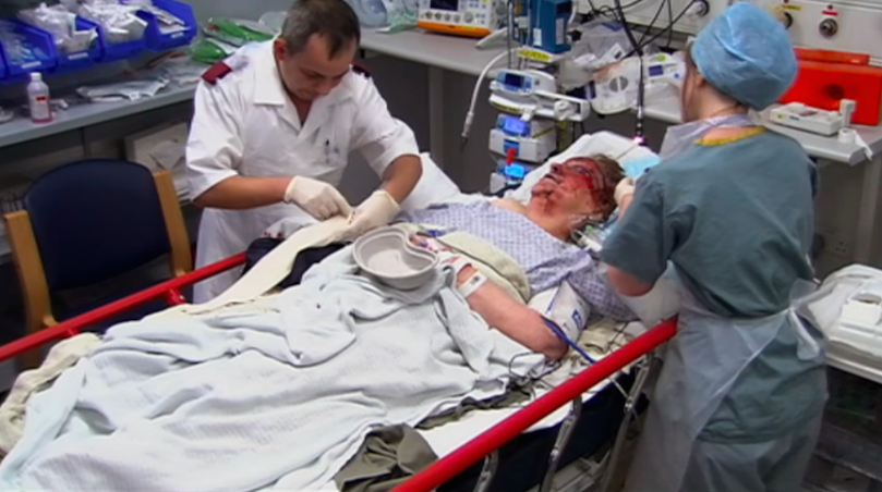 (Figure 10: Christine Surrounded by Doctors, Channel 4, 2015)