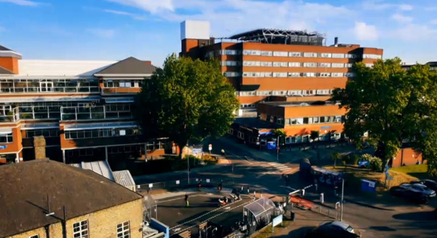 Figure 5: St Georges Hospital, Channel 4, 2015