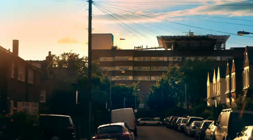 (Figure 6: A Helipad Arrival, St Georges Hospital, Channel 4, 2015) (28)