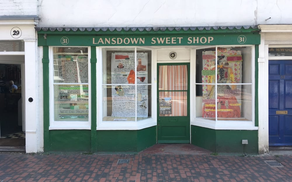 SWEETSHOP FRONT Sophie Hexhiemer collages