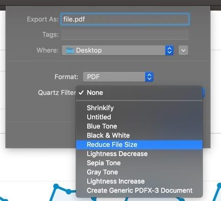 Apply Quartz Filter
