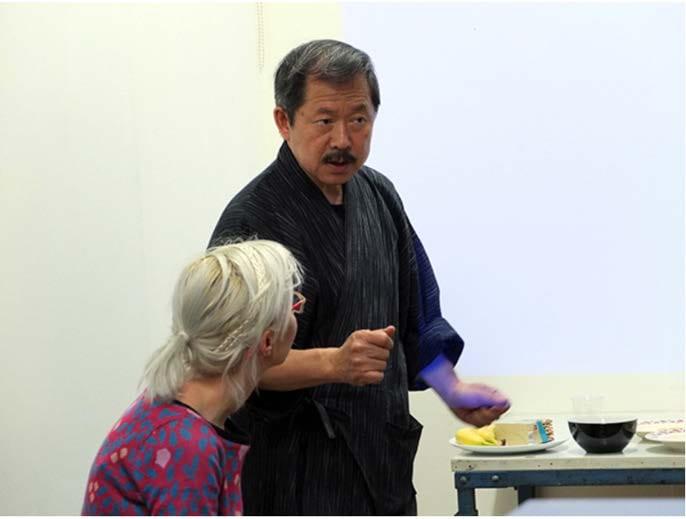 Asaka motoharu at work