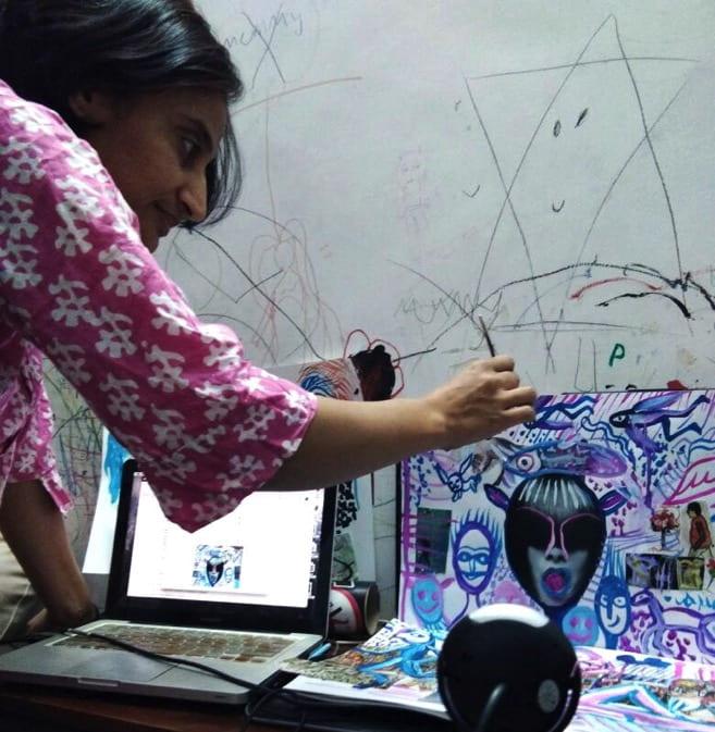 Kavita Singh Kale at work