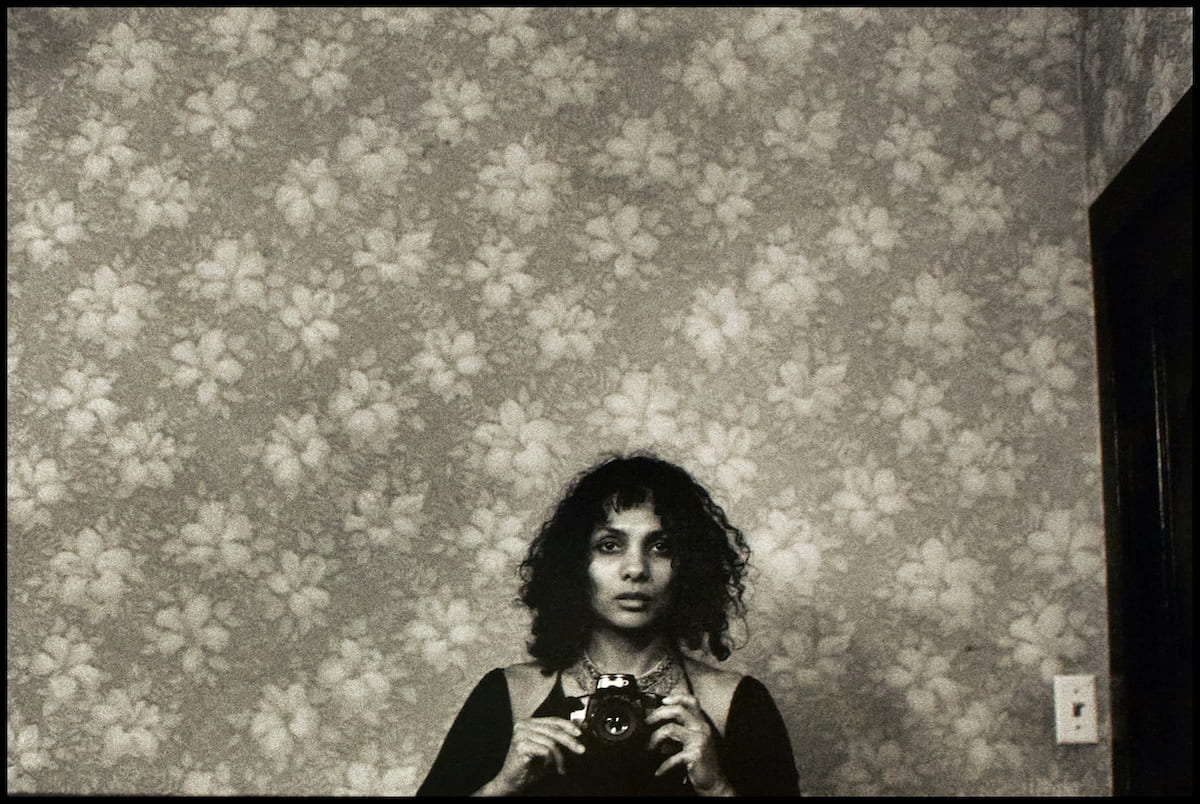 Ming Smith 'Untitled Self Portrait with a Camera'