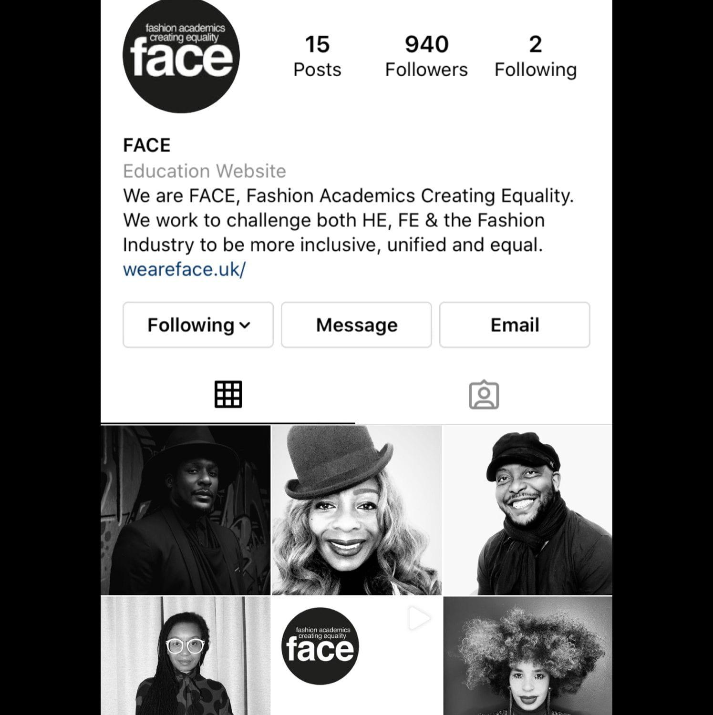 FACE Instagram