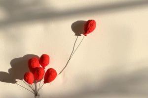 ballons on canvas