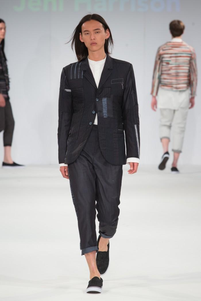 male model catwalk image