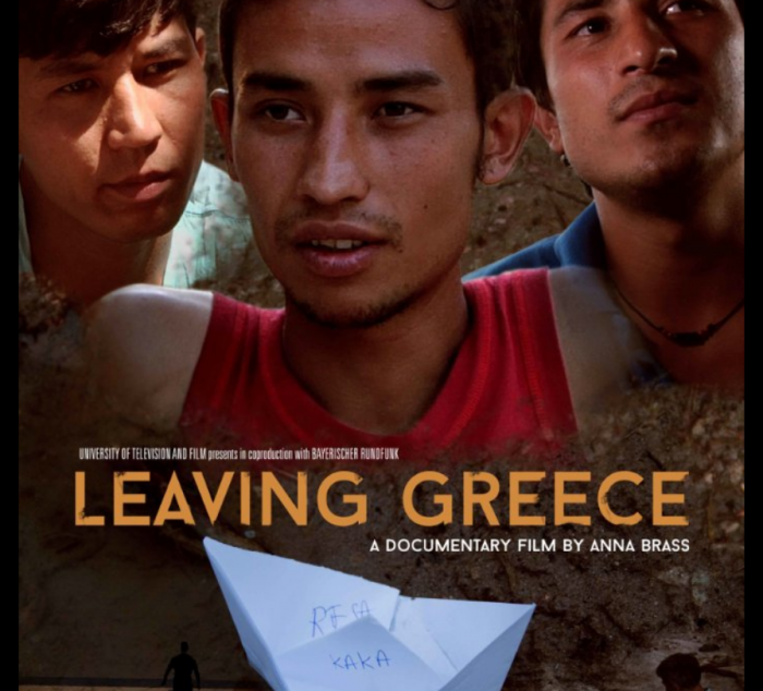 Poster for Leaving Greece