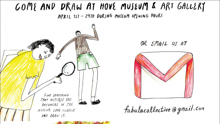Hove Museum draw event