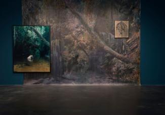 Installation View: Esther Teichmann Mondschwimmen Zephyr, Reiss-Engelhorn Museum