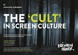 cult in screen culture poster