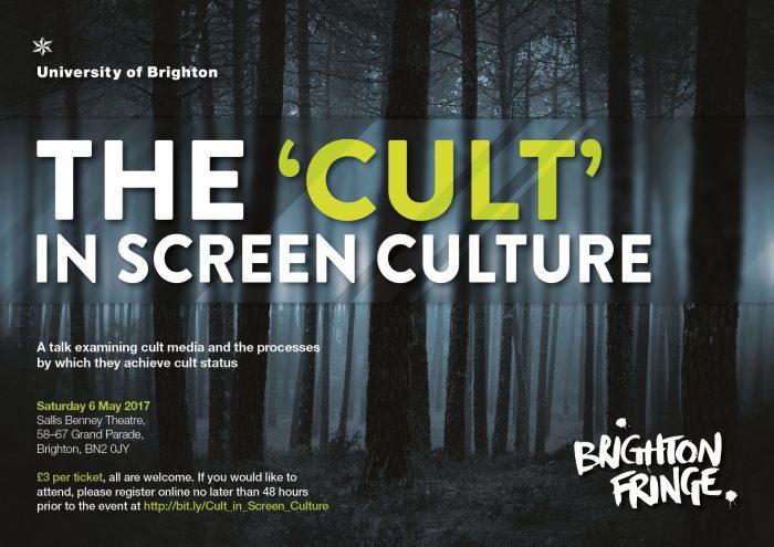 cult in screen culture poster