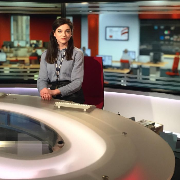 darcey haynes at the bbc