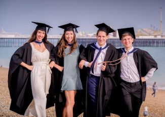 twins graduating