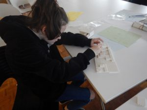 Young carer learning more about Architecture
