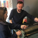 Last chance to try printmaking!