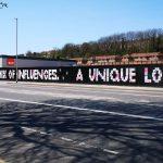University of Brighton students decorate Preston Barracks