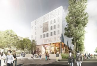 Image of how Moulsecoomb campus will look.