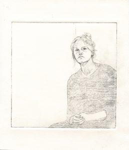 Sara Lavelle self portrait